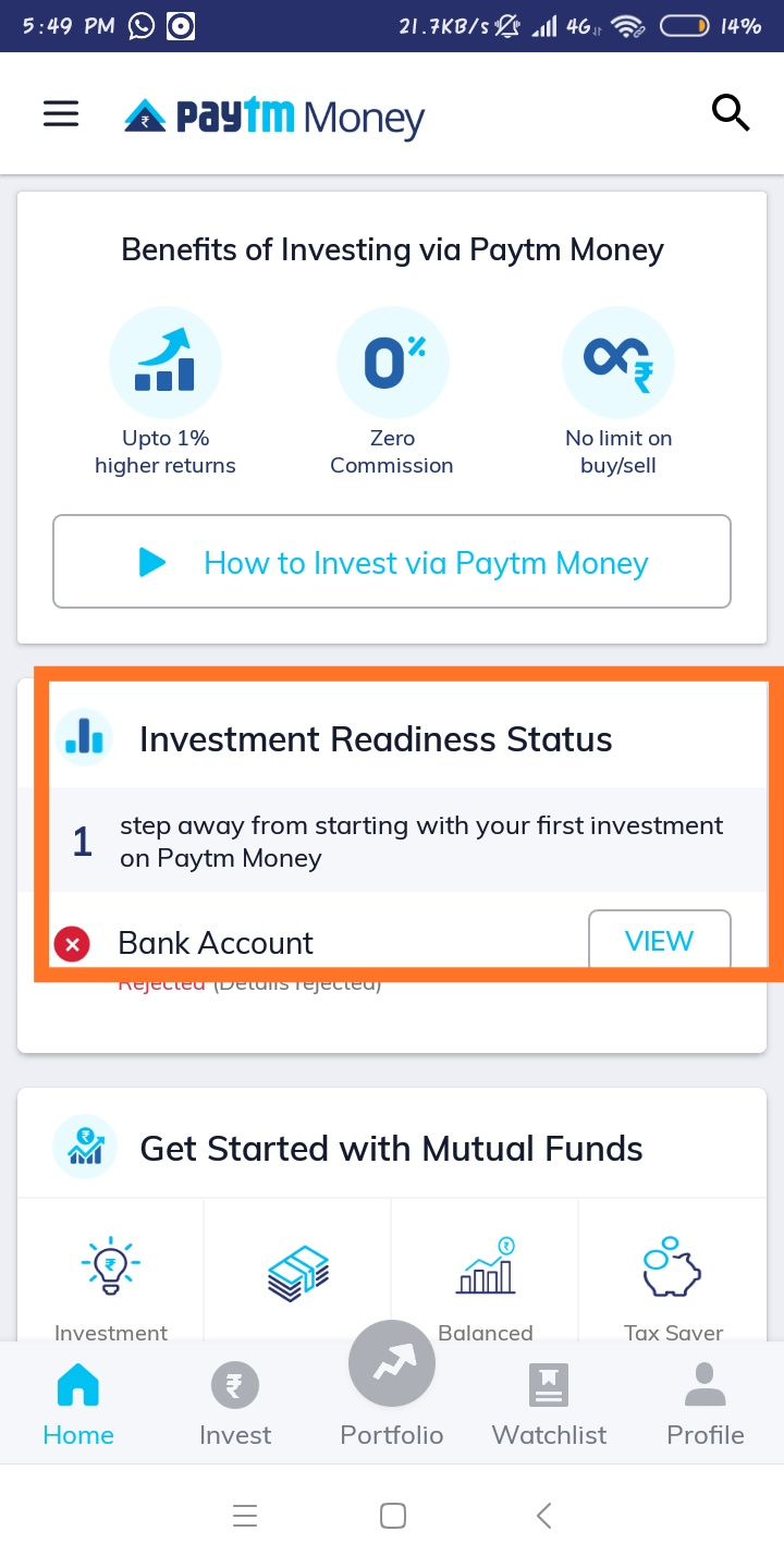 How to start investing in mutual funds using Paytm Money App