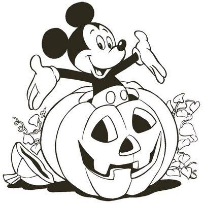 Desenhos de abóboras de Halloween para imprimir