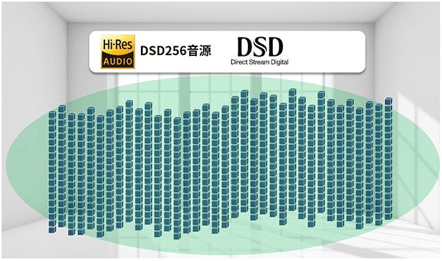 DSD256音源ビジュアルイメージ