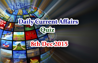 Current Affairs Quiz-