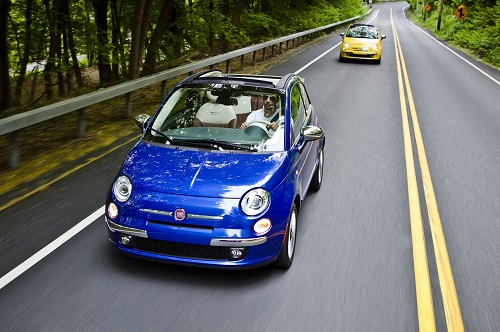 Fiat 500C Cabrios in New York