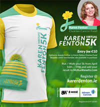 Karen Fenton Virtual 5k - 16th to 19th Apr 2021