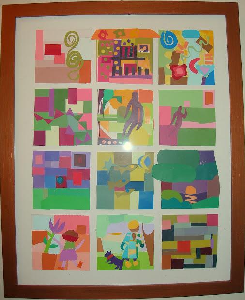Yoko' Art Works Paper Mosaic Project