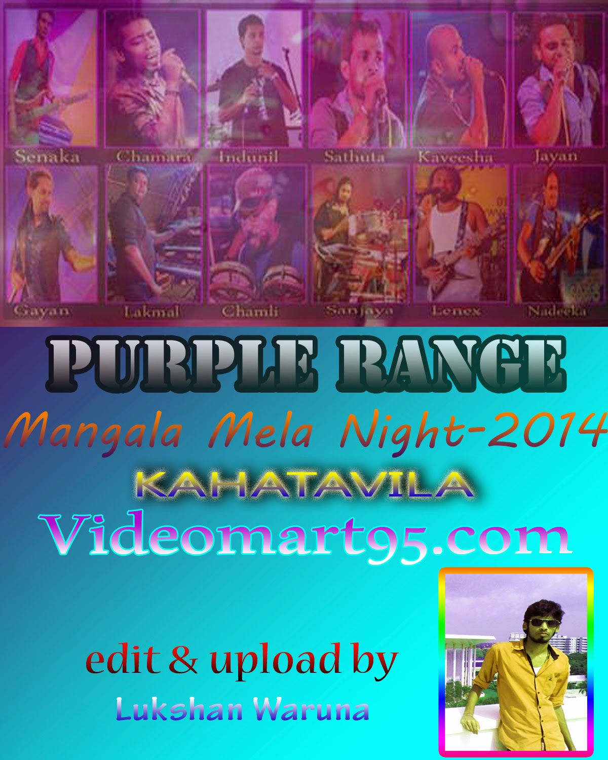 PURPLE RANGE LIVE IN KAHATAVILA 2014