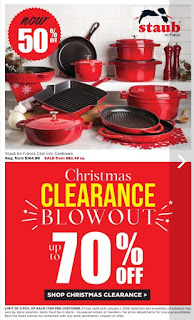 Kitchen Stuff Plus Flyer Boxing Week Red Hot Deals December 26, 2017 - January 1, 2017
