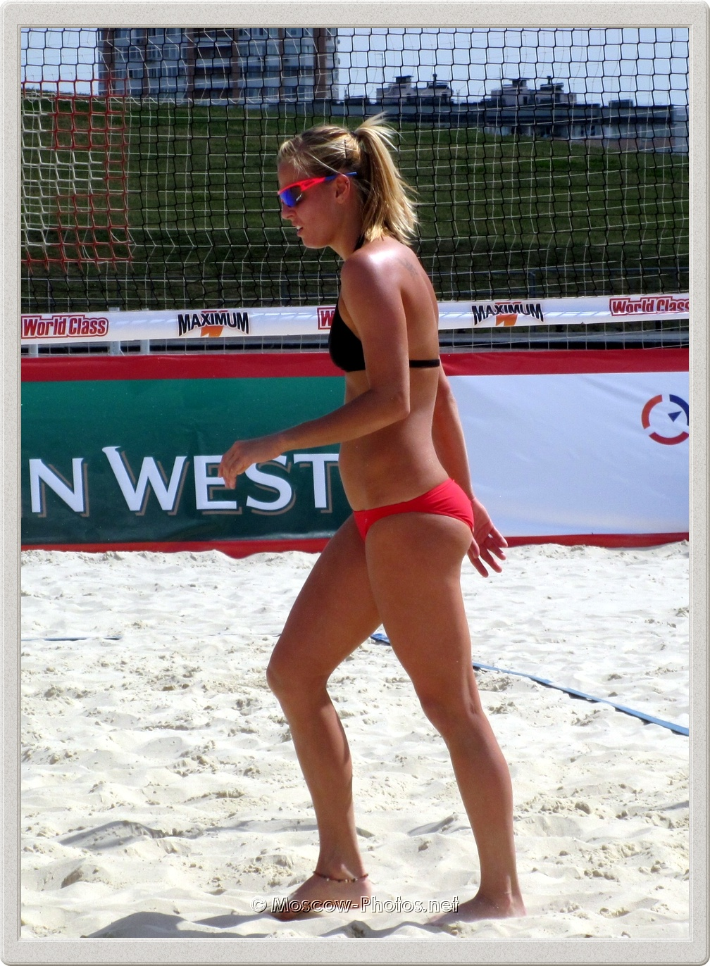 Beach Volleyball Player Marketa Slukova from Czech Republic