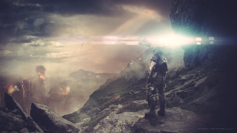 Fan Art for Halo ODST game HD