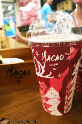Cream Cheese Milk Tea of Macao Imperial Tea