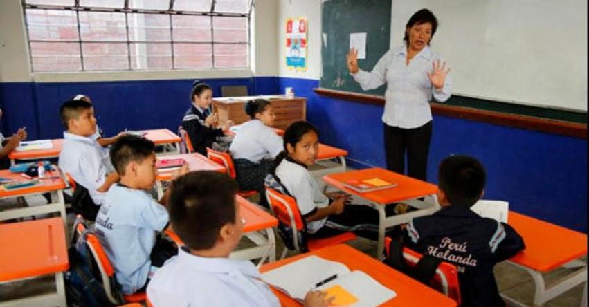 Colegios estatales de Arequipa con mejores resultados que los privados
