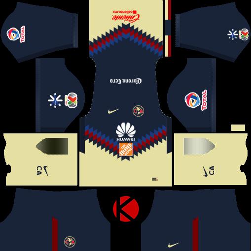 Club America Kits   Dream League Soccer