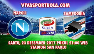 Prediksi Napoli vs Sampdoria 23 Desember 2017