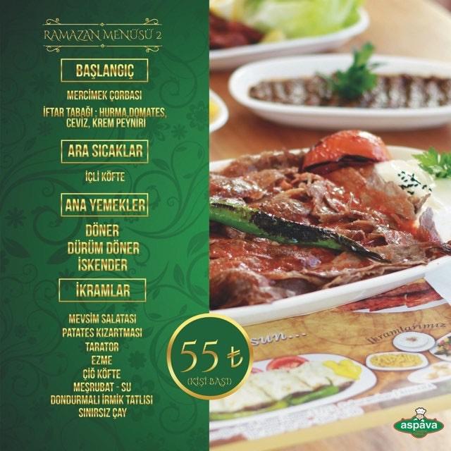 aspava  lezzet ustası çukurambar ankara iftar