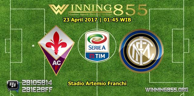Prediksi Skor Fiorentina vs Inter Milan 23 April 2017