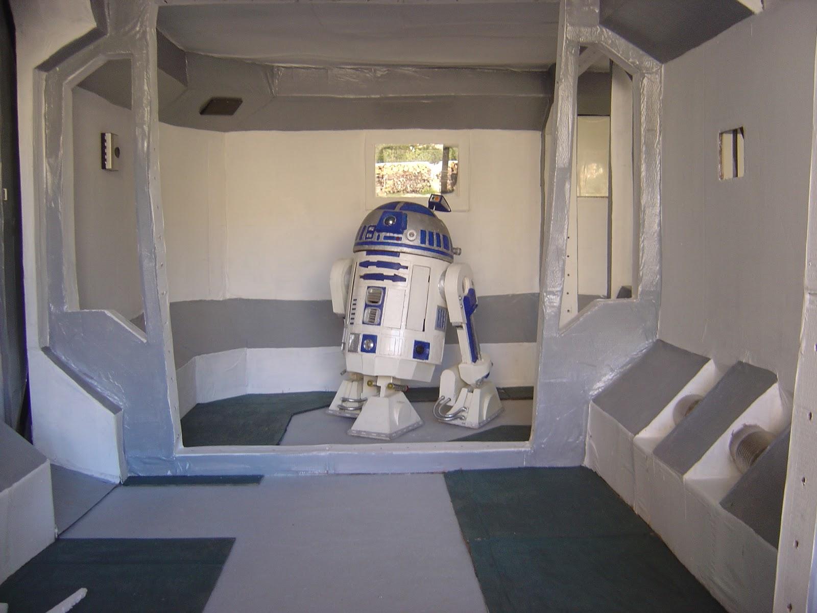 d tail de fabrication de maquette star wars et d 39 objet steampunk d cembre 2012. Black Bedroom Furniture Sets. Home Design Ideas
