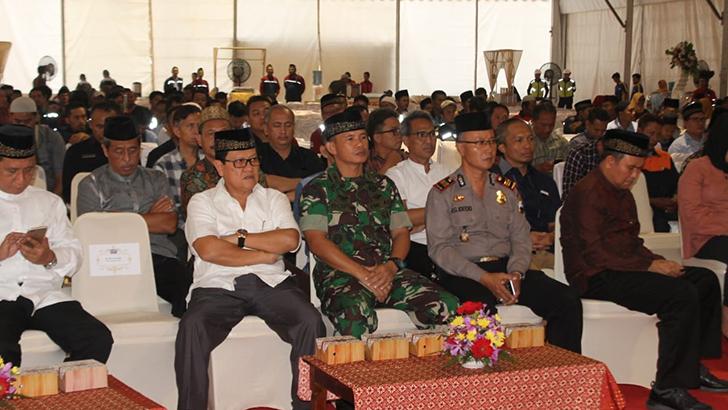 Jalin Silaturahmi, Kasdim Cilacap Hadiri Buka Bersama di PLTU Cilacap