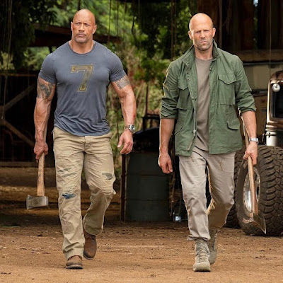 Hobbs And Shaw Jason Statham Dwayne Johnson Image 9