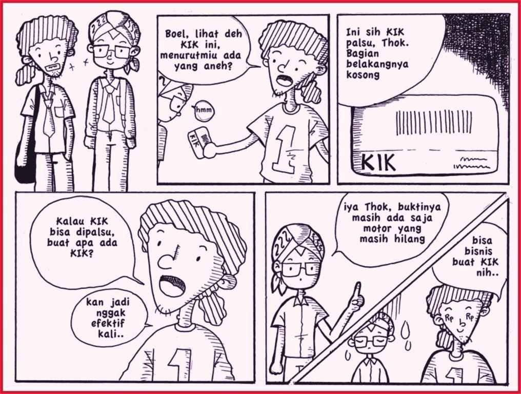 Contoh Gambar Ilustrasi Komik Materi Pelajaran 9