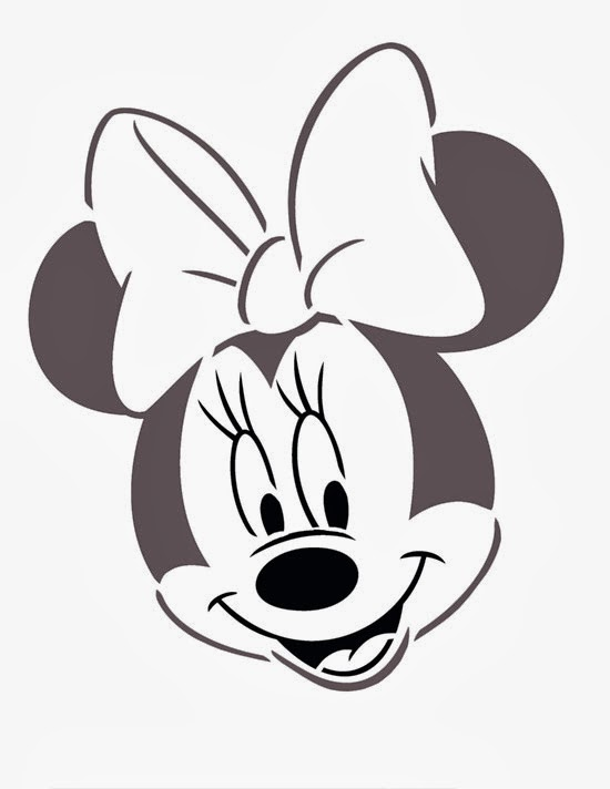 Minnie Mouse Head Templates. | Oh My Fiesta! in english