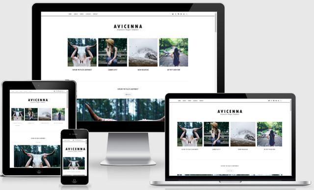Avicenna Minimalist Responsive Blogger Templates