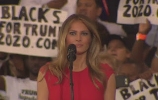Melania Trump attacked for reciting the Lord's prayer