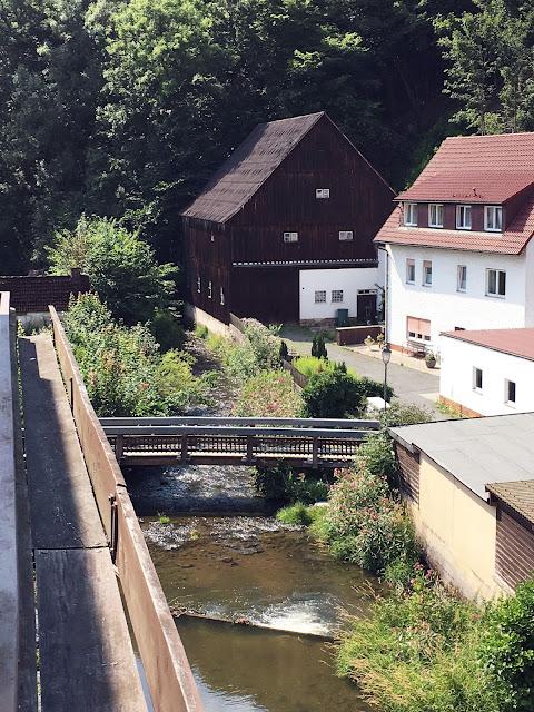 Posthotel Alexander Herrmann - der Blick vom Balkon