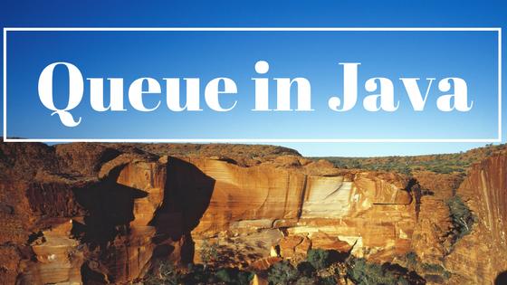 Queue program in Java