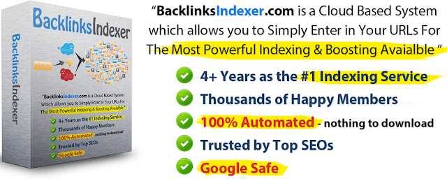 [SPECIAL PROMO LINK] BacklinksIndexer.com Membership [Boosting and Indexing your Backlinks]