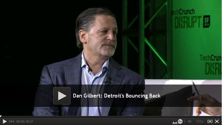 Detroit's Dan Gilbert Comes to Silicon Valley