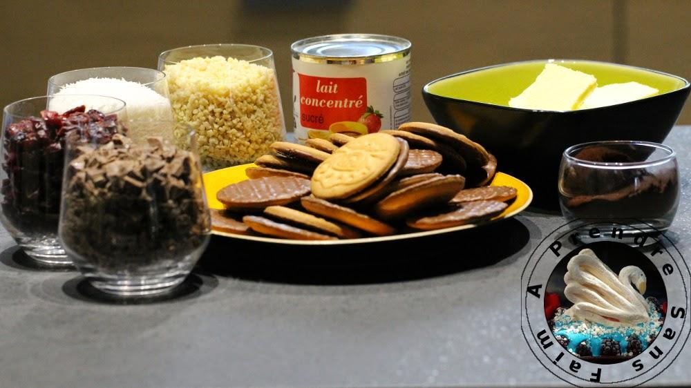 Biscuits coco-choco de Noël (pas à pas en photos)