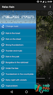 Relax Rain Rain sounds Premium APK