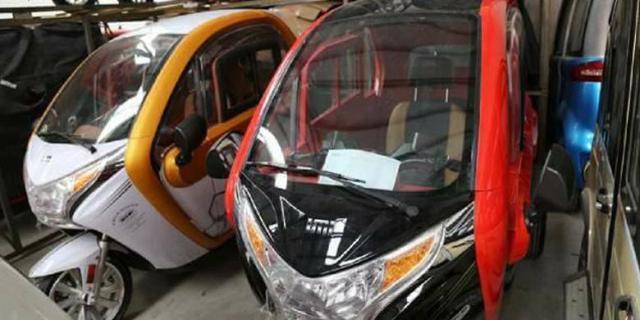 Motor Mewah Terbaru dengan 3 Roda Bikin Netizen Heboh!
