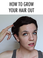 If you're in the middle of growing your hair long, here's how to keep from going crazy