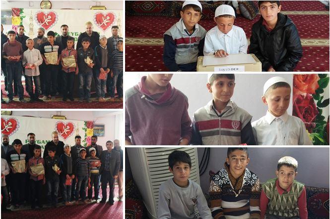 diyarbakır ın hani ilçesinde İrşad der bilgi yarışması düzenledi