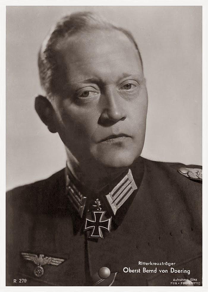 Bernd von Doering Ritterkreuzträger Knight Cross Holder Postcard
