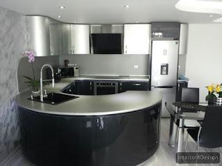 Round Countertop Kitchen 10