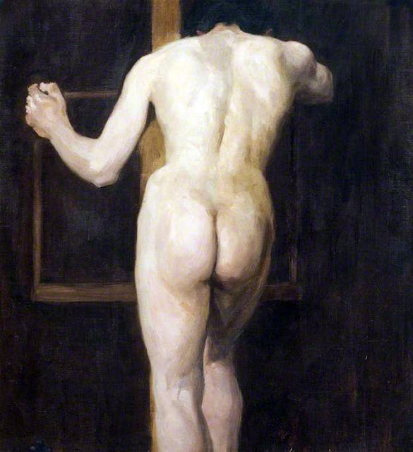 Albert Ranney Chewett, Artistic nude, The naked in the art,  Il nude in arte, Fine art, Ranney Chewett