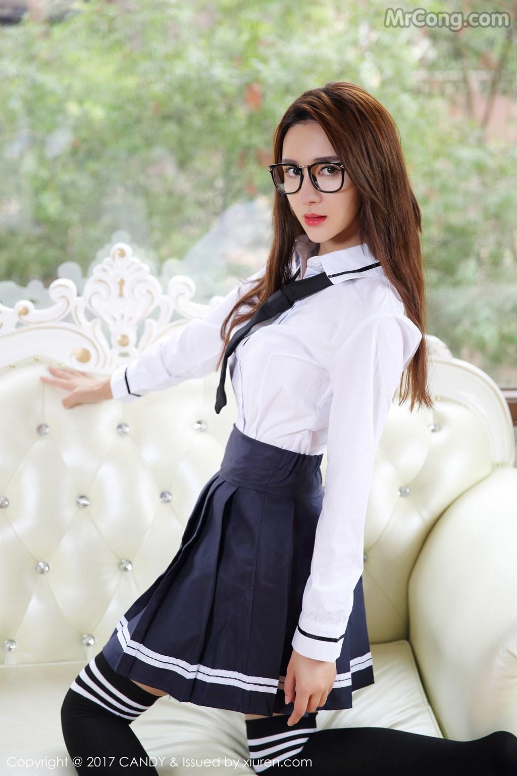 Image CANDY-2017-04-28-Vol.020-Yi-Li-Na-MrCong.com-001 in post CANDY Vol.020: Người mẫu Yi Li Na (伊莉娜) (59 ảnh)