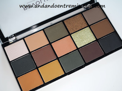 Paleta Reloaded Iconic Division de Makeup Revolution