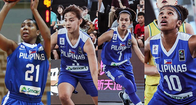 Gilas Pilipinas Women's 5x5 and 3x3 Official Lineup For The 2019 SEA Games