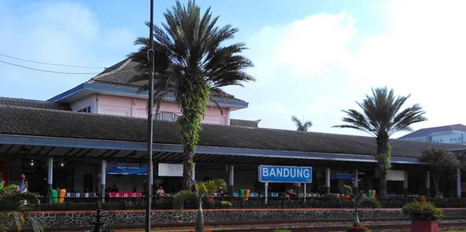 Boarding Pass Kereta Api Stasiun Bandung