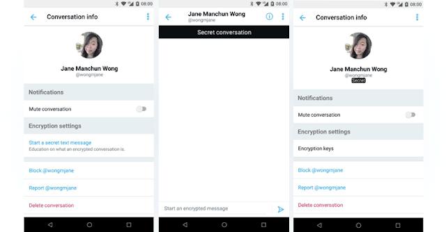 Twitter sta testando i messaggi diretti con crittografati end-to-end