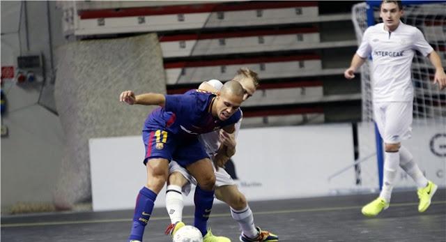 Movistar Inter vence al Dina ruso (0-4) y sentencia su pase a la Elite  Round de la UEFA Futsal Cup a12bc320542b2
