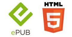 logotipo de EPUB y html5