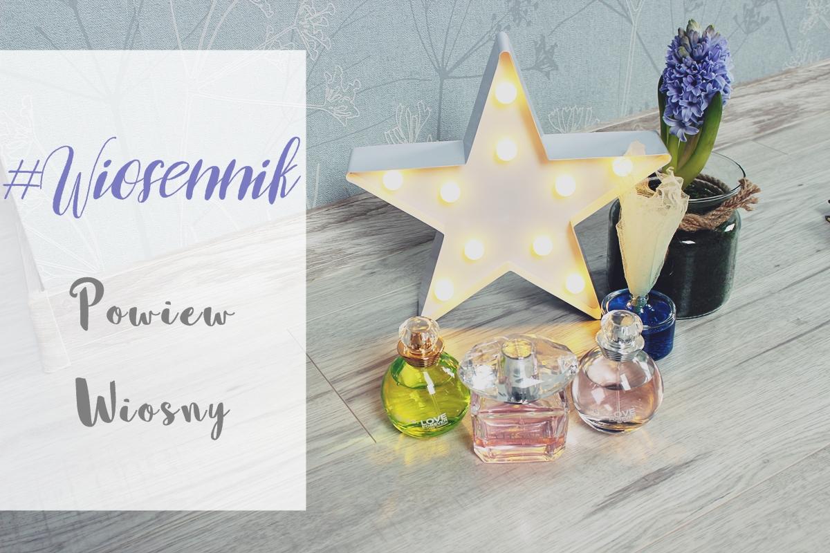 #wiosennik powiew wiosny bi-es versace perfumy bright crystal zielone i różowe jabłuszko