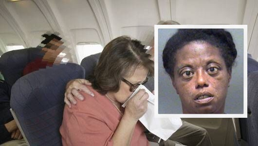 Airplane Forced to Make Emergency Landing Because Woman's V@gina Smelled So Bad