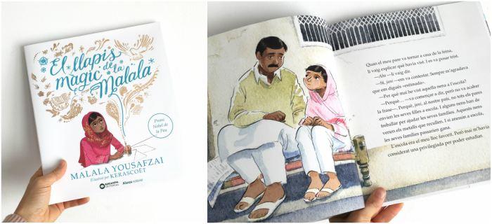 mejores cuentos infantiles 5, 6, 7, 8 años, libros recomendados lapiz magico malala