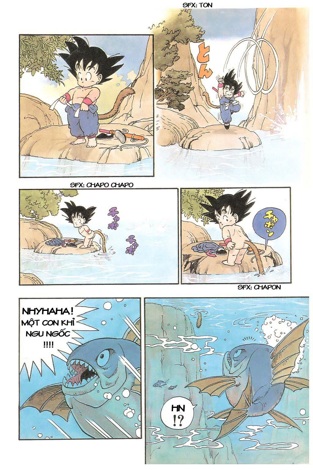 Dragon Ball chap 1 trang 16