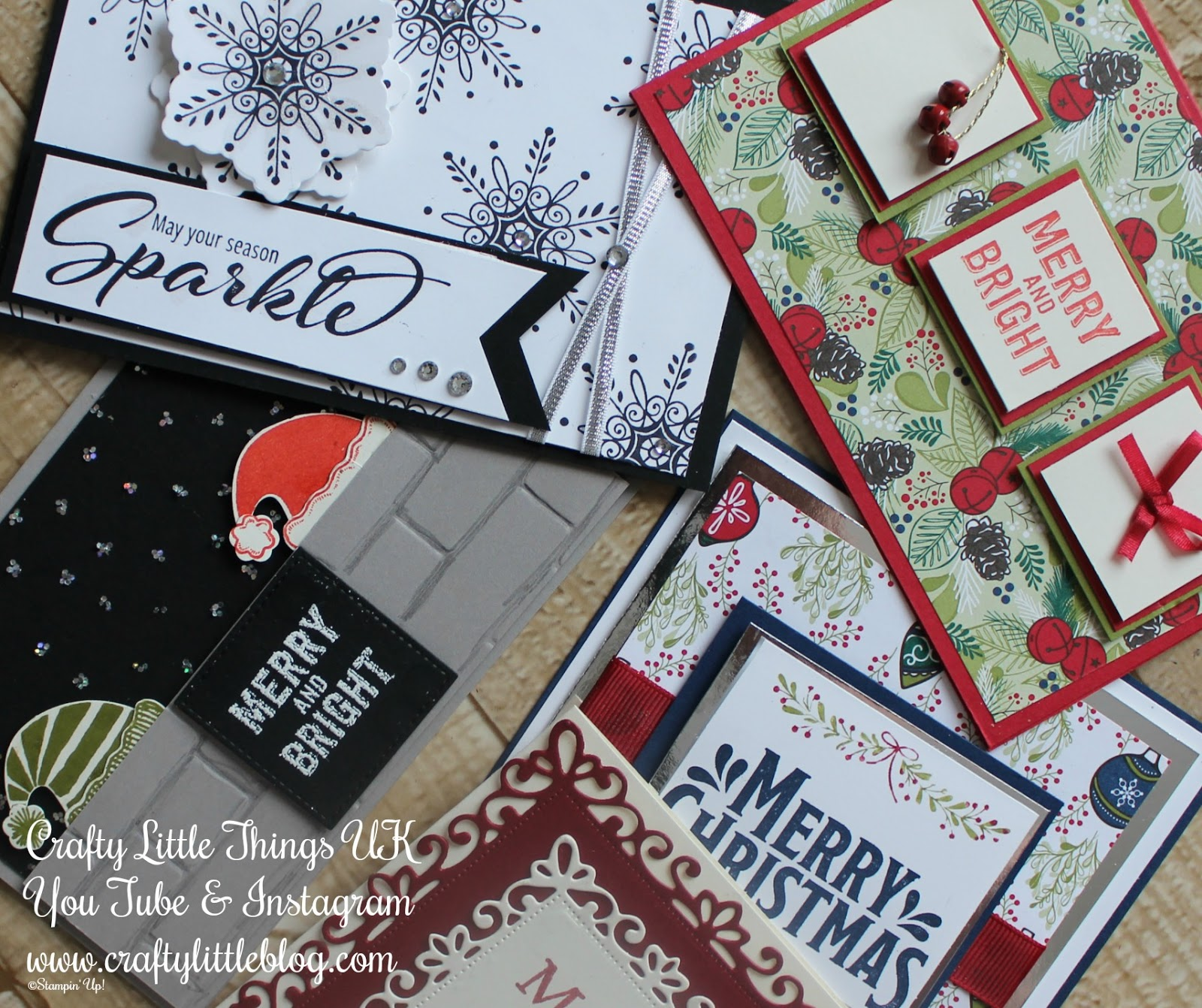 Crafty Little Blog: Afternoon Delights and Christmas Cards Round Up