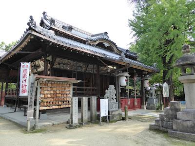 佐太天神宮 拝殿