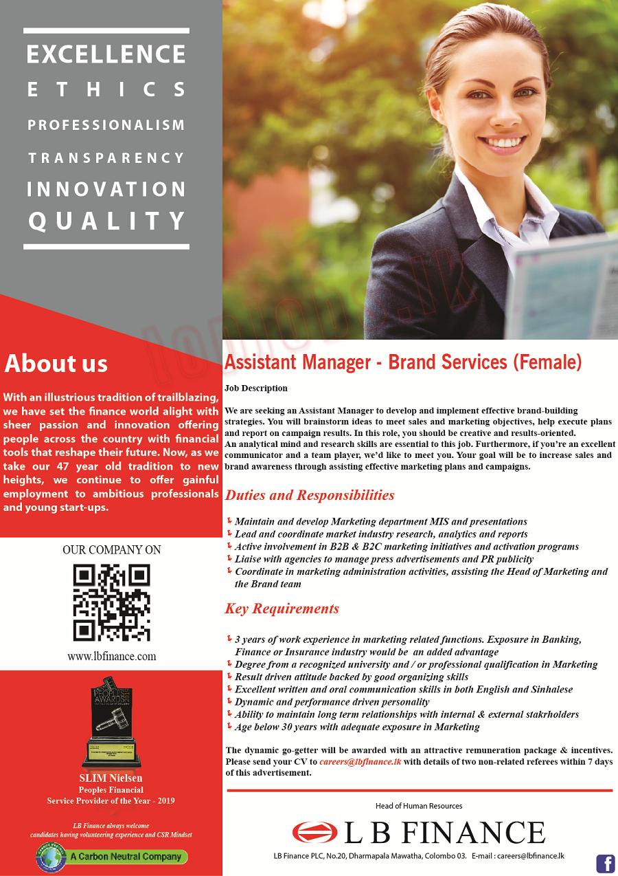 Vacancy In Lb Finance Jobs Find